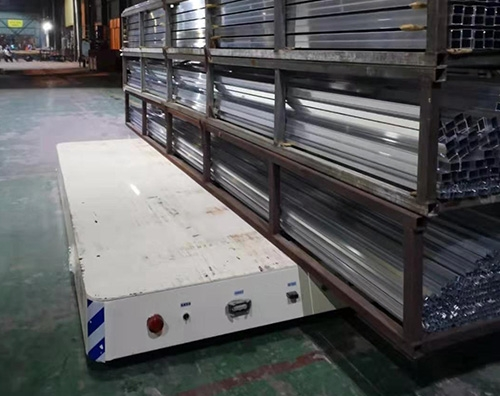 15吨锂电池无轨转运车